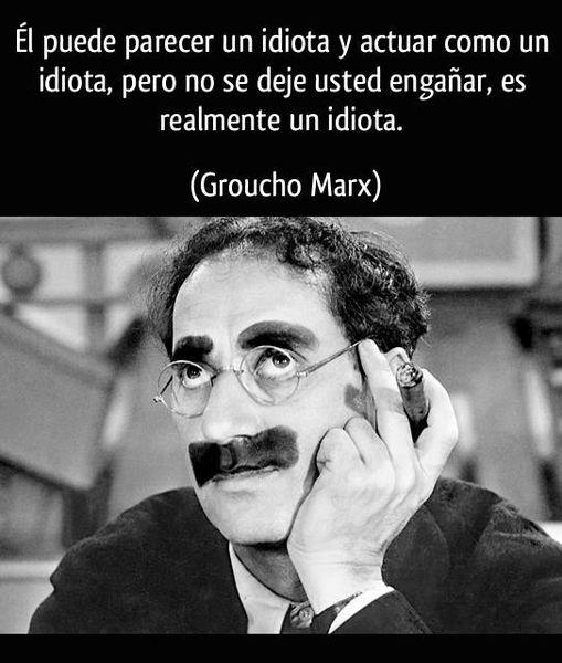 Pedro Miras - Groucho